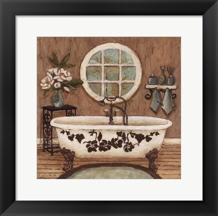 Framed Country Bath Inn I Print