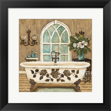 Framed Country Bath Inn II Print