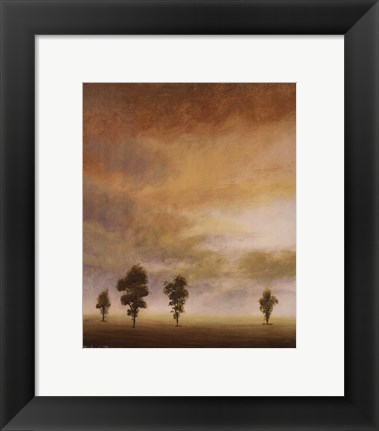 Framed Open Sky II Print