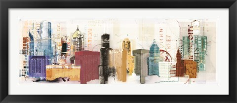 Framed Urban Design Print