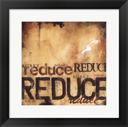 Framed Reduce Print