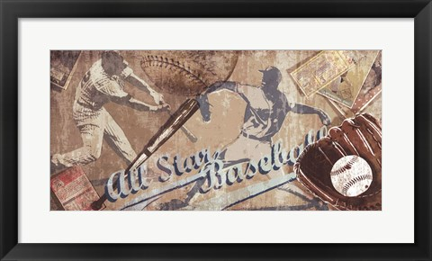 Framed Home Run Print