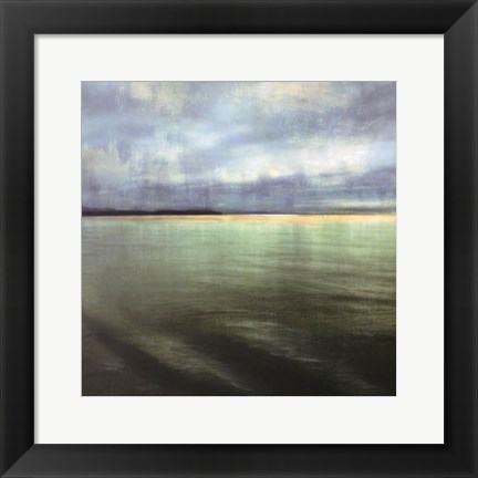 Framed Tranquil Waters II - mini Print