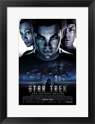 Framed Star Trek XI - UK- style A Print