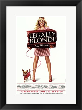 Framed Legally Blonde - The Musical (Broadway) Print