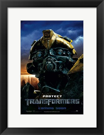 Framed Transformers - style O Print