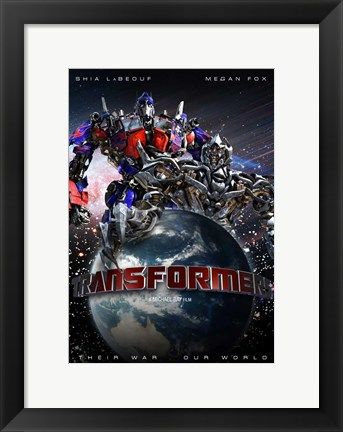Framed Transformers - Canadian - style O Print