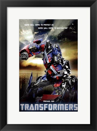 Framed Transformers - style P Print
