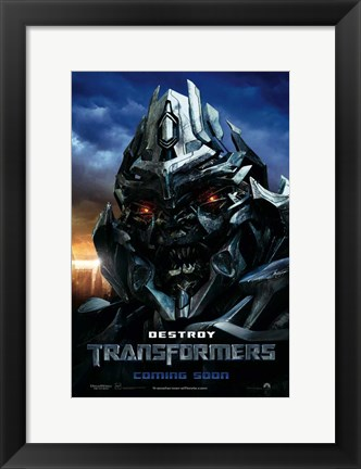 Framed Transformers - style Q Print