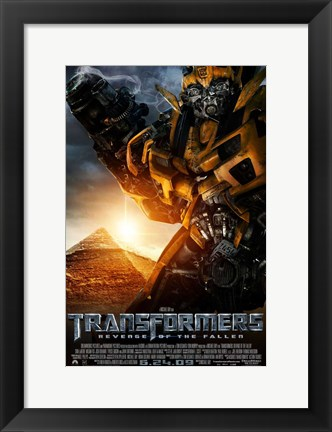 Framed Transformers 2: Revenge of the Fallen - style F Print