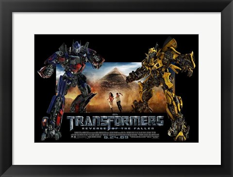 Framed Transformers 2: Revenge of the Fallen - style G Print