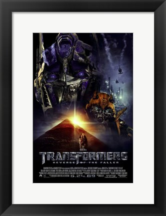 Framed Transformers 2: Revenge of the Fallen - style L Print