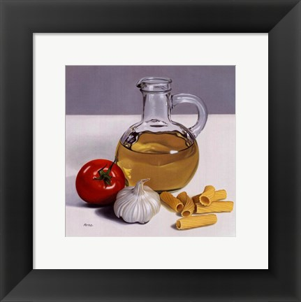 Framed Culinary Art I Print