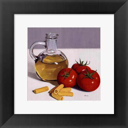 Framed Culinary Art II Print