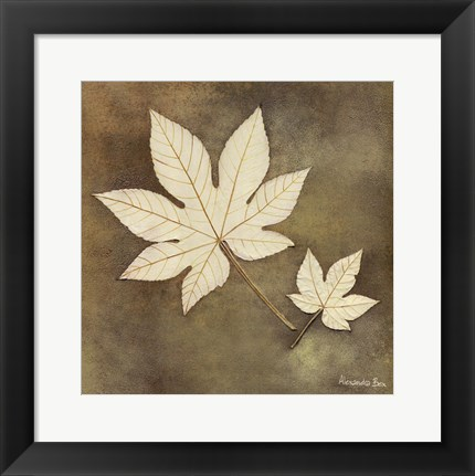 Framed Maple Leaf Print