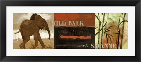 Framed Wild Walk  3 Print