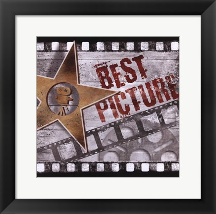 Framed Best Picture Print