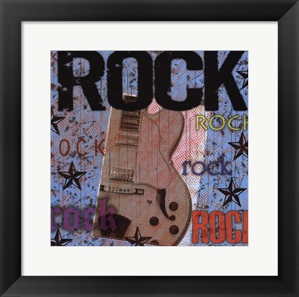 Framed Rock Print