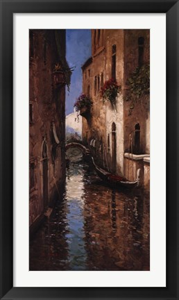Framed Venetian Dreams I Print