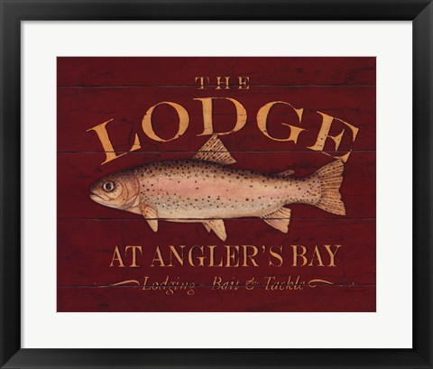 Framed Lodge Print