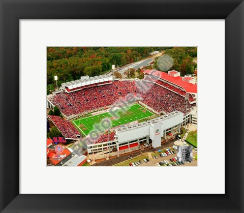 Framed Vaught-Hemingway Stadium 2006 Print