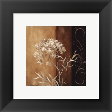 Framed Delicate Beauty II Print