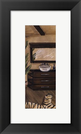 Framed Hollywood Bath II Print