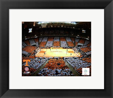Framed Thompson Bolling Arena - Univer. of Tennessee Print
