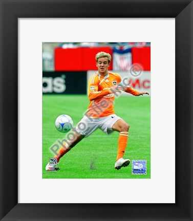 Framed Stuart Holden - 2009 Action Print