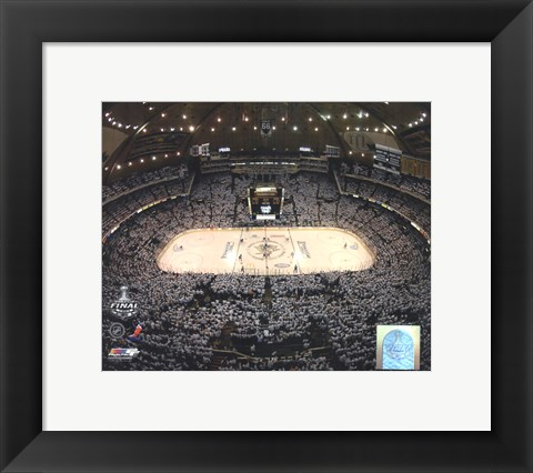 Framed Mellon Arena Game Three of the 2008-09 NHL Stanley Cup Finals (#10) Print