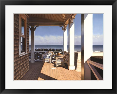 Framed Nantucket Shore Print