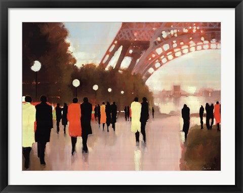 Framed Paris Remembered Print