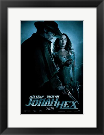 Framed Jonah Hex - style A Print