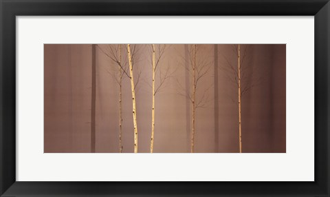 Framed Winterely Wood Print