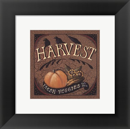 Framed Harvest Print