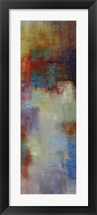 Framed Color Abstract II Print