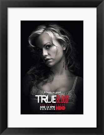 Framed True Blood - Season 2 - Anna Paquin [Sookie] Print