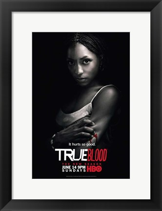 Framed True Blood - Season 2 - Rutina Wesley [Tara] Print
