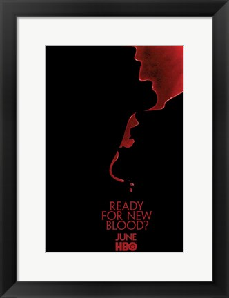Framed True Blood - Season 2 Promo Print