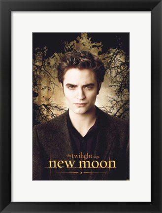 Framed Twilight 2: New Moon (Edward promo) Print