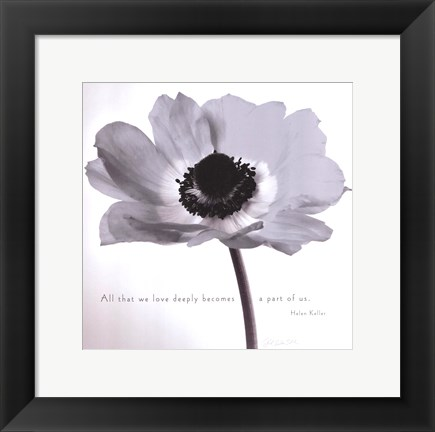 Framed Poppy Love Print
