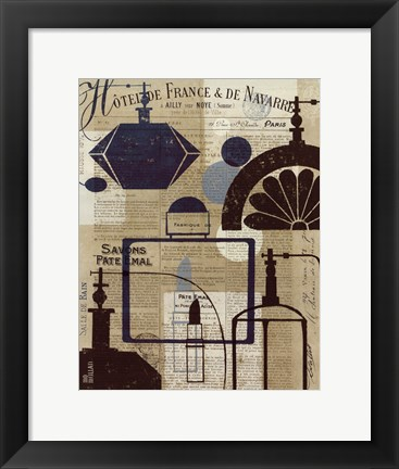 Framed French Spa I Print