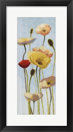 Framed Just Being Poppies III Print