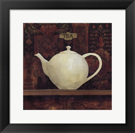 Framed Ornamental Teapot II Print