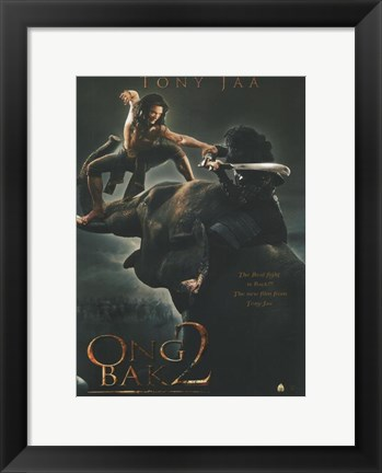 Framed Ong Bak 2: The Beginning, c.2008 - style A Print
