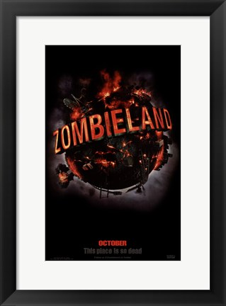 Framed Zombieland, c.2009 - style A Print