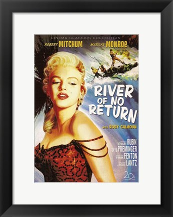 Framed River of No Return, c.1954 - style B Print