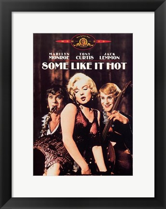 Framed Some Like it Hot, c.1959 - style G Print