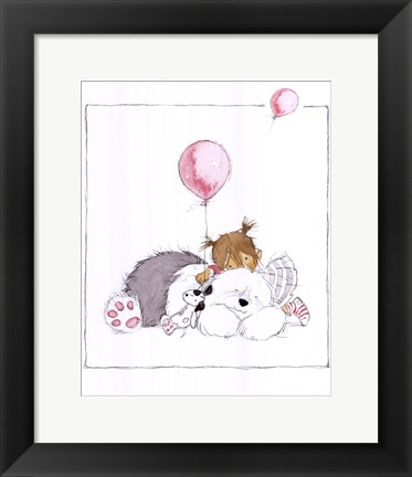 Framed Children's World III Print