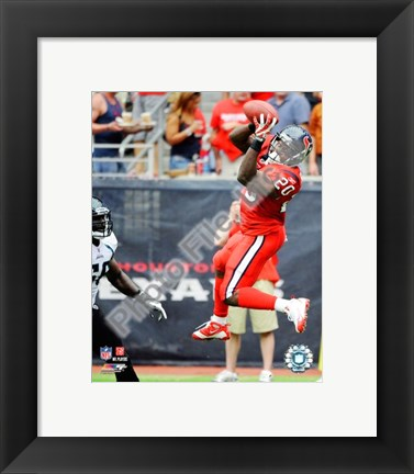 Framed Steve Slaton 2009 Action Print